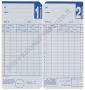 Cartellini per Seiko QR 350-550-120 (conf. 100 schede)