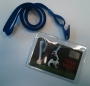 Portabadge semirigidi con clip e cordoncino (conf. 10 pz)