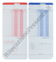Cartellini BP 200/300 (conf. 100 schede)