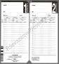 Cartellini Seiko QR395-7550 Burk (conf. 100 schede)